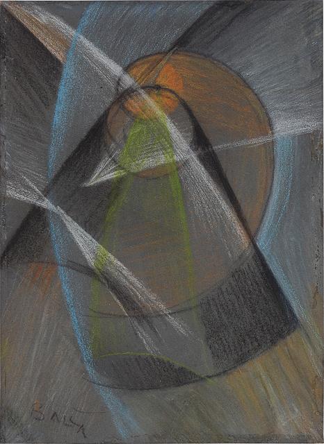 Giacomo Balla, 'Mercurio che passa davanti al sole (Mercury passing in front of the sun)', 1914, Phillips