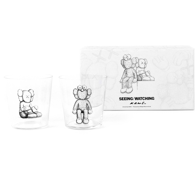 KAWS, 'Seeing/Watching Companion Glass Set', 2018, Design/Decorative Art, Glass, Curator Style