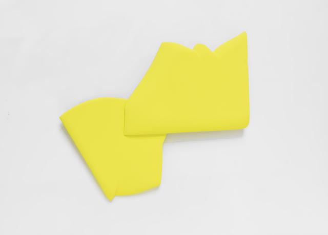 , 'One Fold Yellow,' 2017, Spotte Art