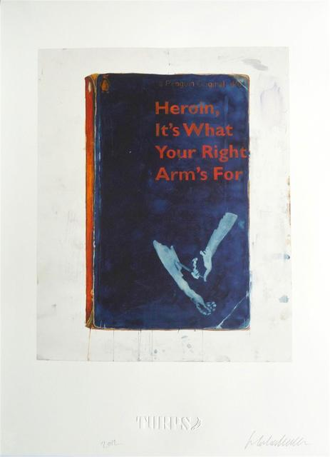 Harland Miller, 'Heroin, It's What Your Right Arm's For - Artist Proof ', 2012, Hang-Up Gallery