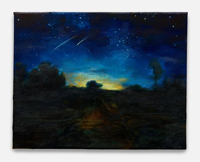 , 'Starry Night (after Millet),' 2018, Almine Rech