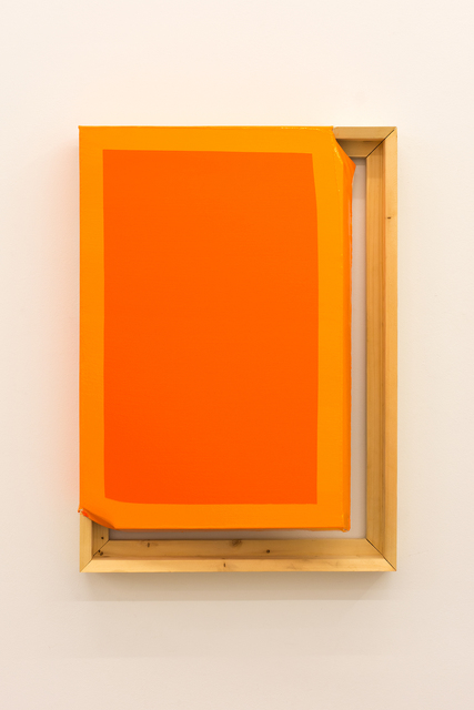 , 'Tight (Dark orange/orange),' 2015, CarrerasMugica