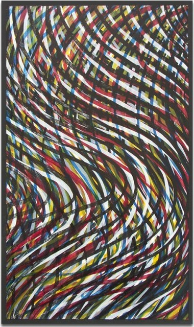 , 'Wavy Lines (Color),' 1995, Alan Cristea Gallery