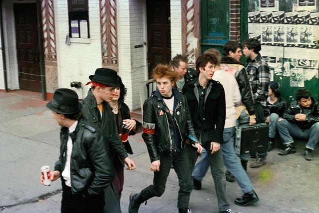 Robin Graubard, 'ska punks - CBGB's', ca. 1979, Photography, Lambda print, Office Baroque
