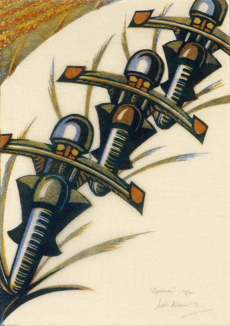 , 'Speedway,' 1934, Osborne Samuel