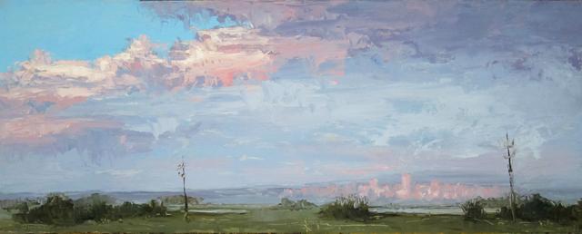 , 'Sun Setting on Denver,' 2015, Abend Gallery