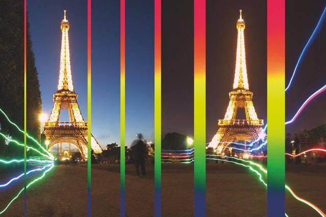 , 'Rainbow on Eiffeltower Paris,' 2017, Artists Studios