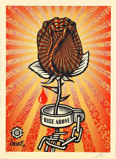 Shepard Fairey, 'Rose Shackle - Large Format', 2019, Blackline Gallery