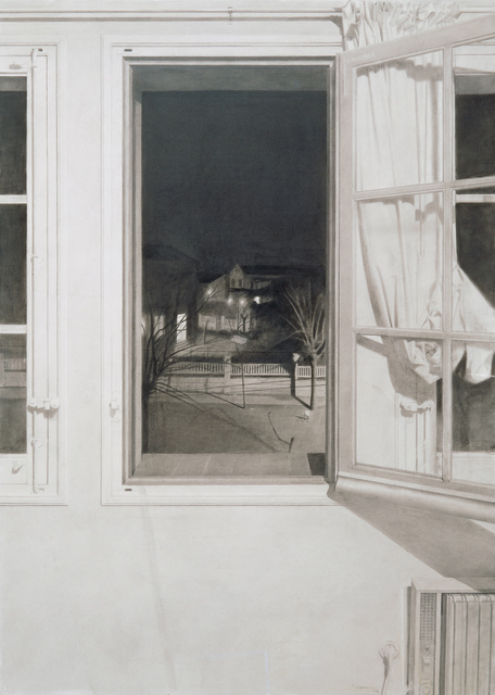 , 'Ventana de Noche (Window at Night),' 1972, Museo Thyssen-Bornemisza