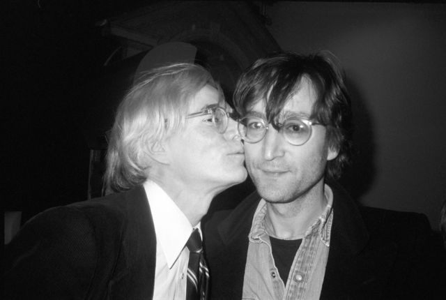 , 'Andy Kissing John Lennon,,' 1978, Izolyatsia