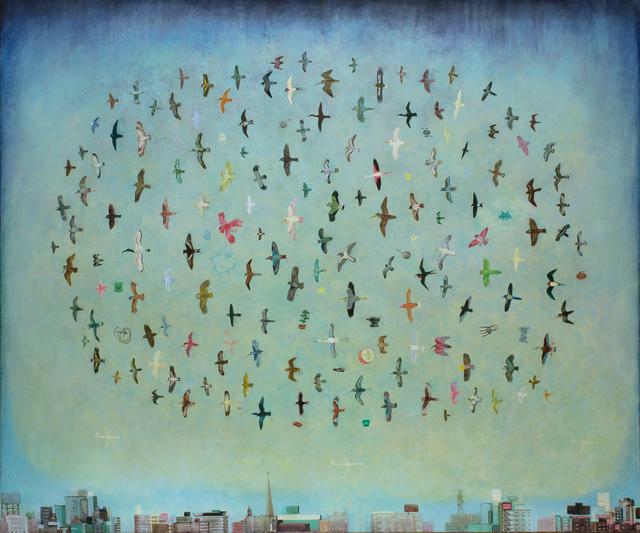 , 'City Birds,' 2017, Rebecca Hossack Art Gallery