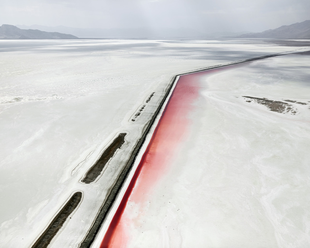 , 'Red Canal, Great Salt Lake, Utah,' 2017, Foster/White Gallery