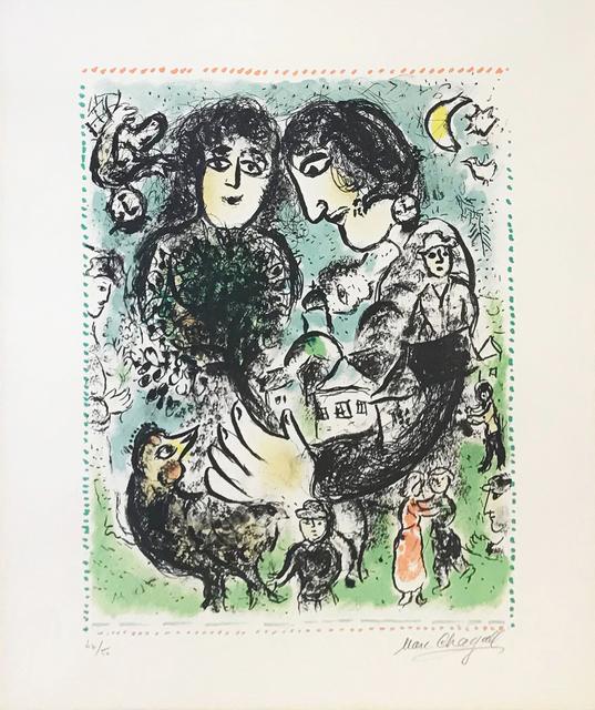 Marc Chagall, 'LE RENDEZ-VOUS', 1983, Gallery Art