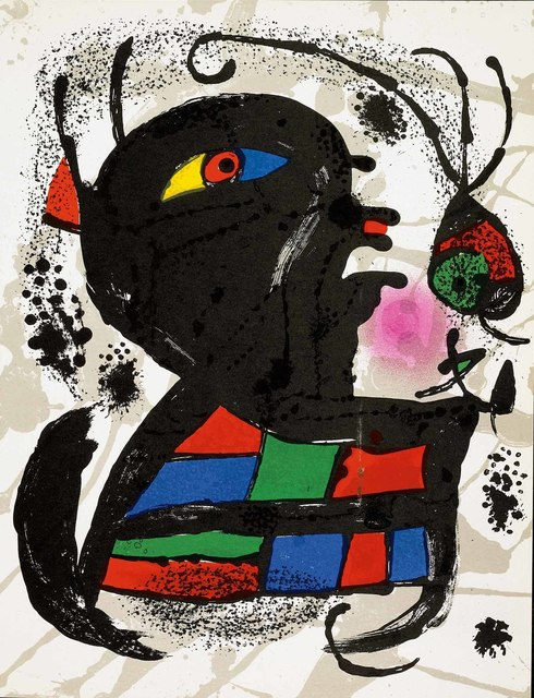 Joan Miró, 'Untitled (Lithographe III, M.1117)', 1977, Martin Lawrence Galleries