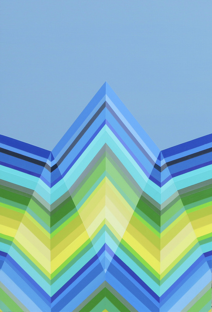 , 'Winter Wave,' 2017, Newzones