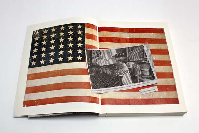 , 'Old and New Flags,' 2012, Denise Bibro Fine Art
