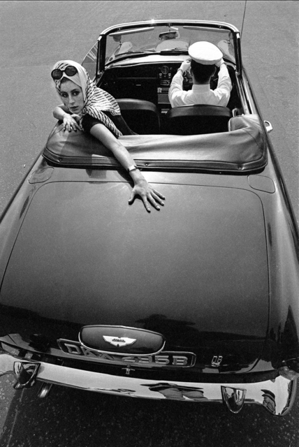 , 'Girl over Car Boot, Town Magazine,' 1965, Holden Luntz Gallery