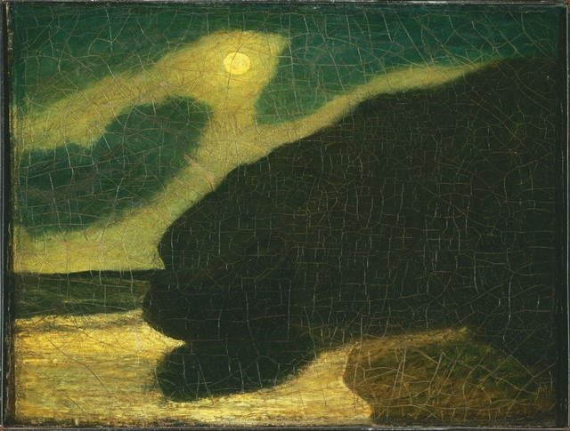 Albert Pinkham Ryder, 'Moonlit Cove', 1880s, Phillips Collection