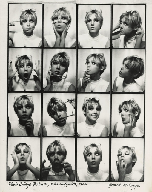 , 'Photo Collage Portrait, Edie Sedgewick,' 1966, Lee Gallery