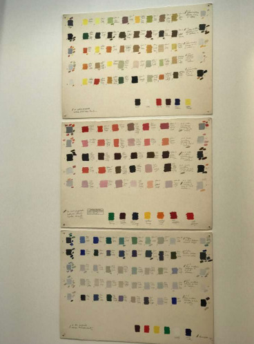 , '30 Yellow Proposals between Tonal Value Limits; 30 Red Proposals between Tonal Value Limits, 30 Blue Proposals between Tonal Value Limits,' 1976, Henrique Faria Fine Art