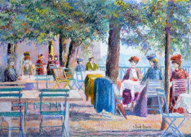, 'Après-Midi d'Éte à la Terrasse,' , Russell Collection