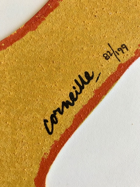 Corneille, 'Le Chat jaune', ca. 1990, ByNewArt