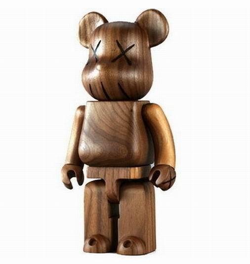 KAWS, 'BWWT 400% Wooden Bearbrick', 2005, 5ART GALLERY