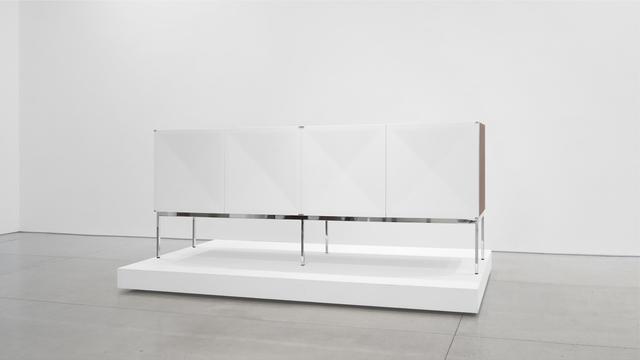 """, '""""Pointe de Diamant"""" Mahogany Sideboard,' 1960-1969, Peter Blake Gallery"""