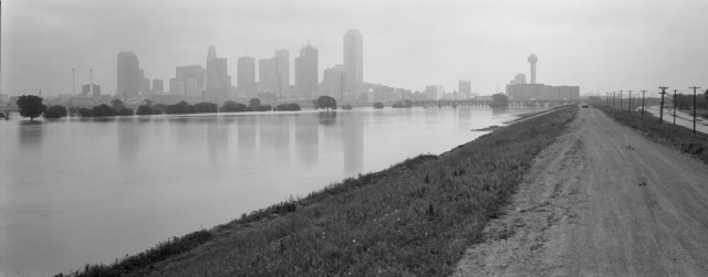 , 'Trinity River greenway from the levee, Dallas, Texas, May 13, 1990,' 1990, Fort Worth Contemporary Arts