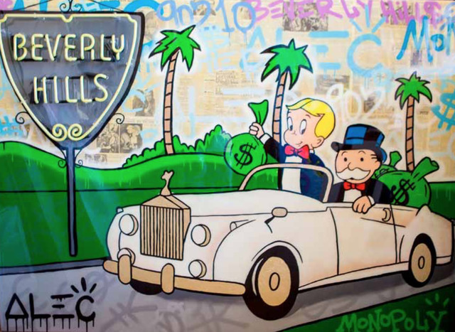 Alec Monopoly, 'Beverly Hills Neon Sign', 2017, ArtLife Gallery