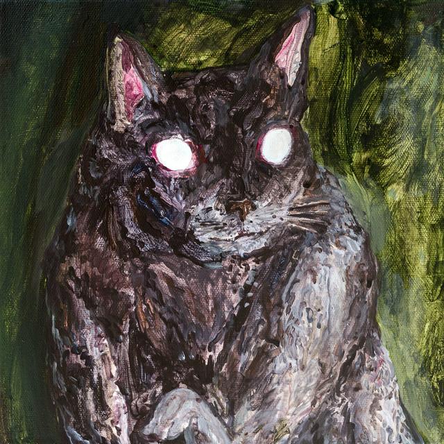 , 'The Black Cat in the dark,' 2018, Yiri Arts