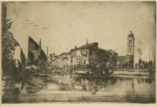 Clifford Isaac Addams, 'Venice, Off San Georgio', Private Collection, NY
