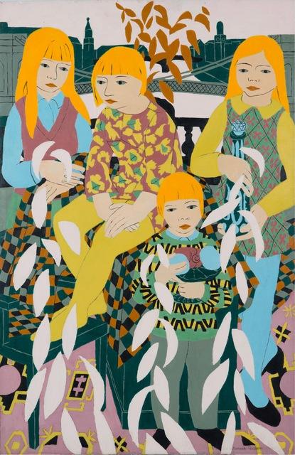 , 'Children and Bridges,' 1969, Tatha Gallery