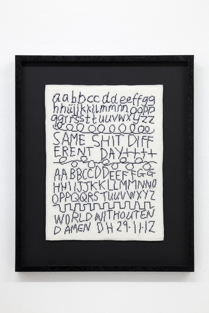 , 'Same Shit, Different Day,' 2012, New Art Centre