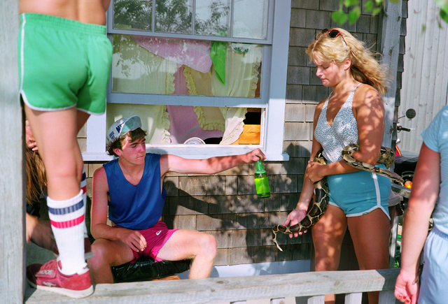 , 'Oak Bluffs III, Martha's Vineyard, Massachusetts, Série Recreation,' 1983, Galerie Les filles du calvaire