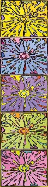 Peter Halley, 'Cartoon Explosion', 2009, Schellmann Art