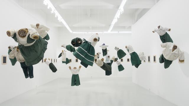 , 'Flying in the Fragmentary,' 2018, Yavuz Gallery