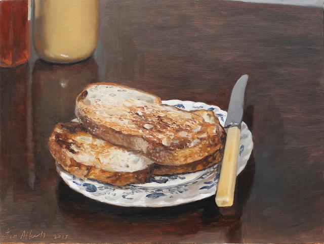 , 'Toast,' 2017, Charles Nodrum Gallery