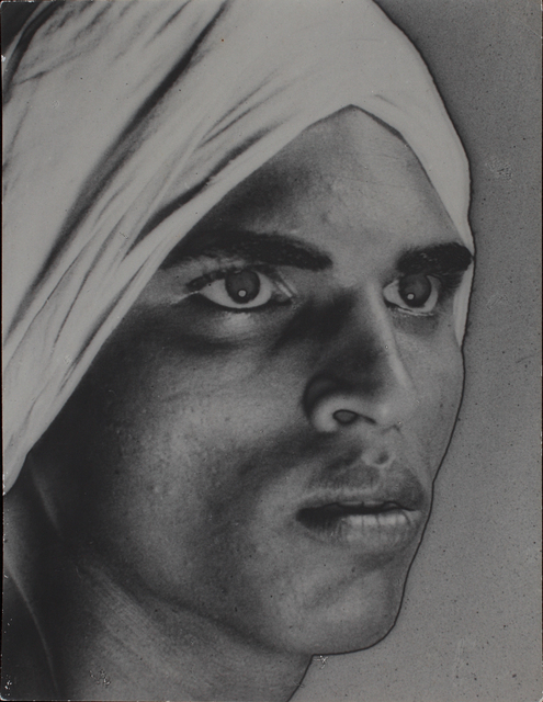 , 'Untitled (Portrait of man with turban),' ca. 1934-38, Jhaveri Contemporary