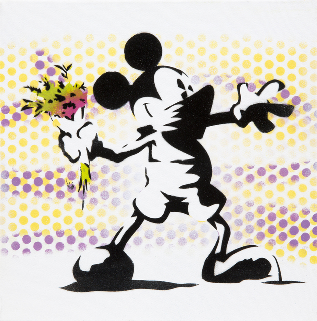 Eyesaw, 'Mickey Mouse Banksy', 2014, Julien's Auctions