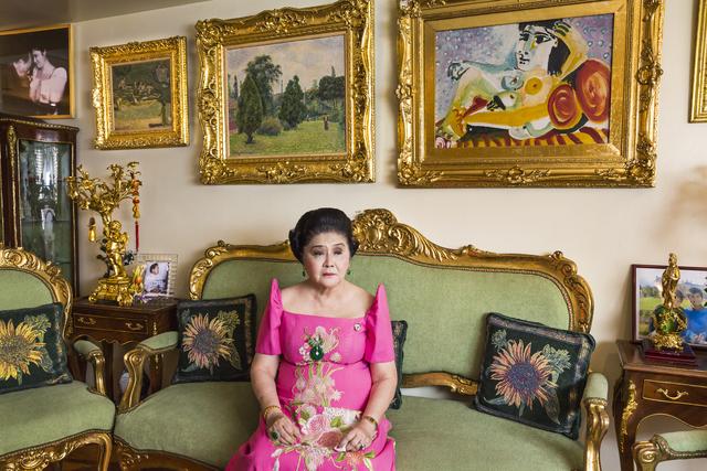 , 'Imelda Marcos, 84, in her apartment, Manila, Philippines,' 2014, Fahey/Klein Gallery