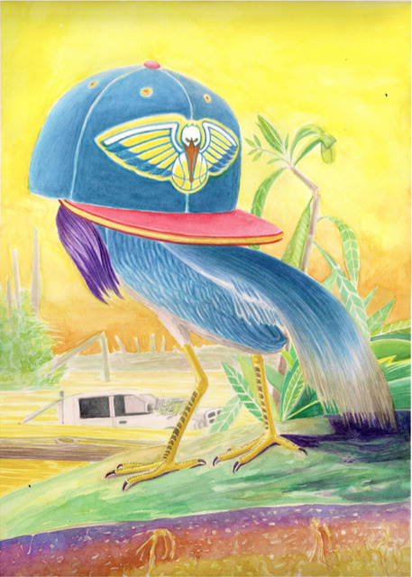 , 'Heron de Nouvelle-Orleans,' 2016, MAËLLE GALERIE