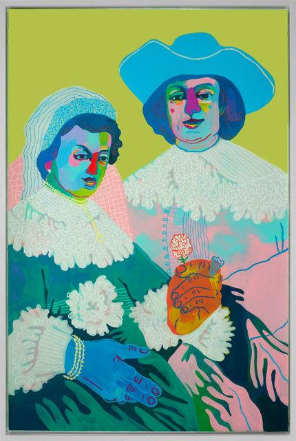 , 'Jen and Marty (after Rembrandt),' 2017, Rebecca Hossack Art Gallery
