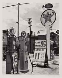 Texaco Gasoline Station Tremont Avenue & Dock Street, Bronx
