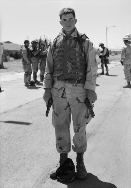 , 'Corporal Hoepper, 29 Palms,' 2004, BAM