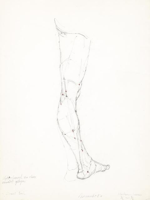, 'Left Leg,' 1987, Galerie Bei Der Albertina Zetter