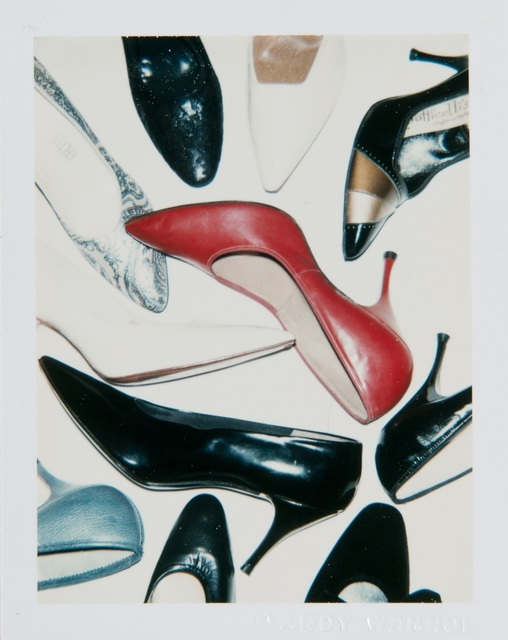 , 'Andy Warhol, Polaroid Photograph of Shoes,' ca. 1980, Hedges Projects