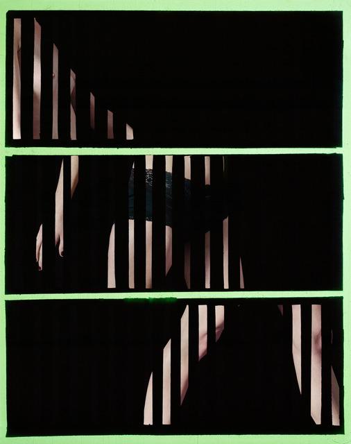 , 'Walking (Green),' 2014, Galerie Christophe Gaillard