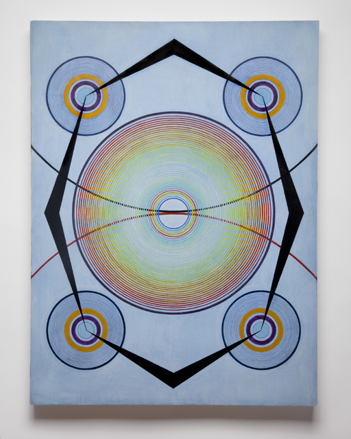 Tayo Heuser, 'Cradle', 2017, Painting, Ink and acrylic on wood panel, Jason Jacques Gallery