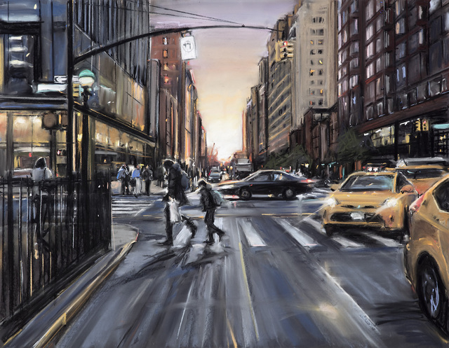 , 'Nightfall,' 2018, Elins Eagles-Smith Gallery